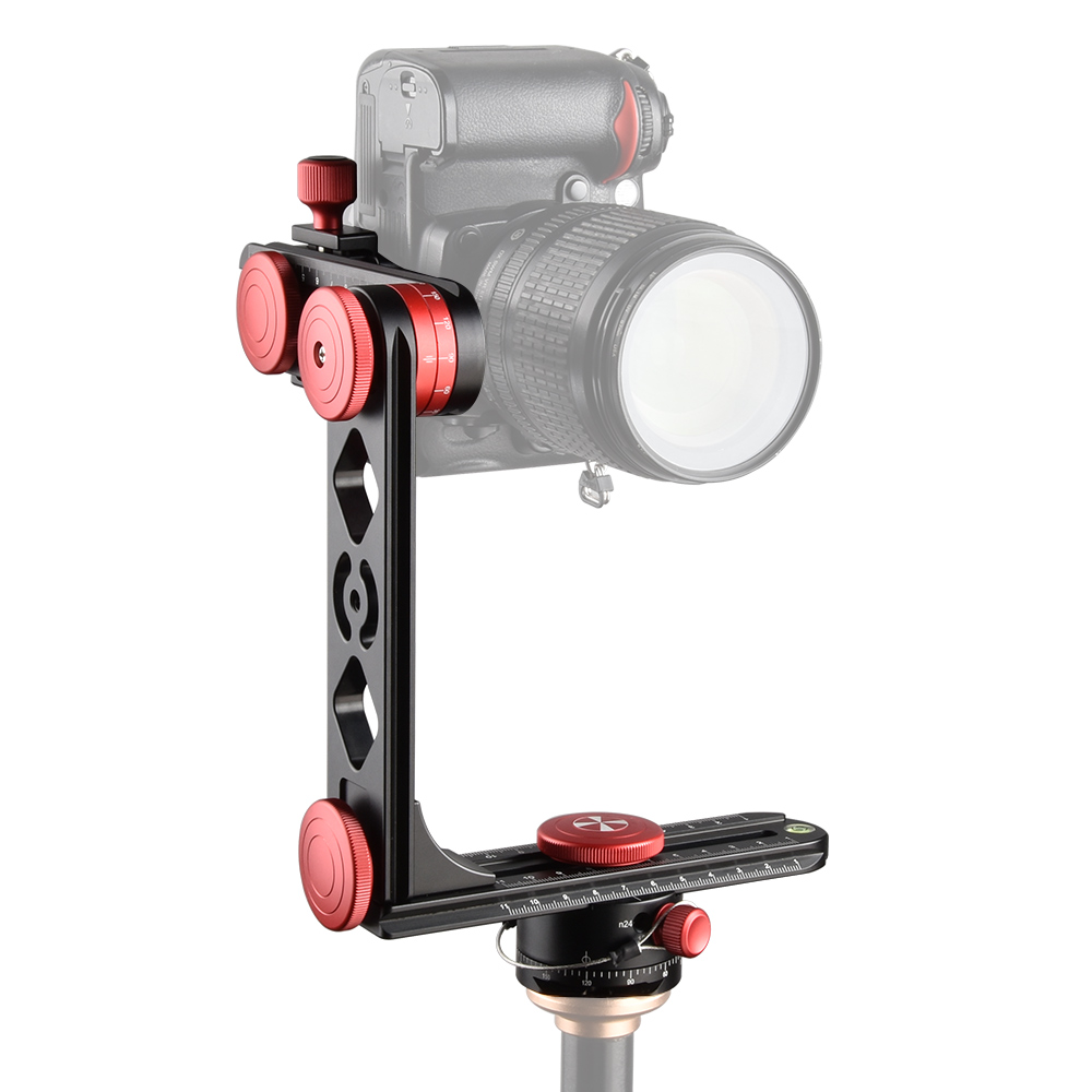 Pro photography 720 degree Angle panoramic head gimbal tripod ball head Carbon Fiber Tripod for camera camcorder
