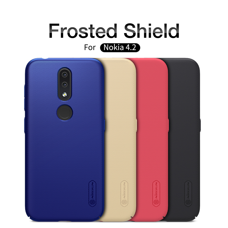 Phone Case For Nokia 4.2 NILLKIN Matte Super Frosted Shield Back Cover For Nokia 4.2 Phone Bumper Shell Case Gift Phone HolderPhone Case For Nokia 4.2 NILLKIN Matte Super Frosted Shield Back Cover For Nokia 4.2 Phone Bumper Shell Case Gift Phone Holder