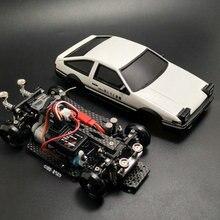 MINI-D1/28RC мини-Дрифт гоночный четырехколесный задний привод пульт дистанционного управления