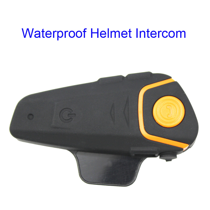 ФОТО Free Shipping!!100%Waterproof Helmet Intercom Motorcycle Headset Intercom Automatic Bluetooth Handfree Intercom with FM function