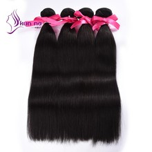 KUNNA Brazilian straight virgin hair weft for sale human hair unprocessed best price 4pcs