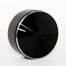 Aluminum Plastic Knob Potentiometer Knob Cap Speaker Volume Control Knob Audio Knob 48x20mm