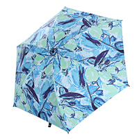 Ultra Light Pencil Umbrella Folding Anti UV Sun Parasol Female Oil Painting Rain Umbrella