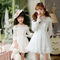 Candy Rain New Spring Princess sweet lolita dress women Japanese style sweet pretty fairy white chiffon dress female C16CD6142