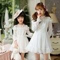 Candy rain nueva primavera princesa sweet lolita dress mujeres estilo japonés sweet c16cd6142 pretty fairy dress mujeres de gasa blanca