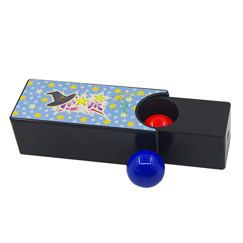 Box Turning The Red Ball Into The Blue Ball Magic Tricks Close Up Magia New Changeable Magie Mystery Box Gimmick Props Magica