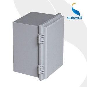 2014 calidad superior SP-WT-201513 CE aprobado Tipo de bisagra hebilla impermeable caja/cajas de Instrumentos/caja de conexiones material ABS