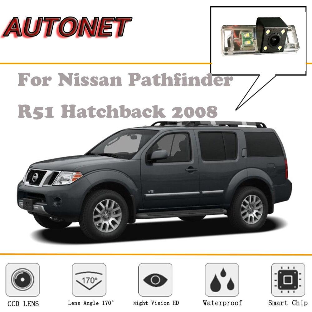 AUTONET Rear View camera For Nissan Pathfinder R51 Hatchback 2008/Night Vision/Reverse Camera/Backup Camera/license plate camera