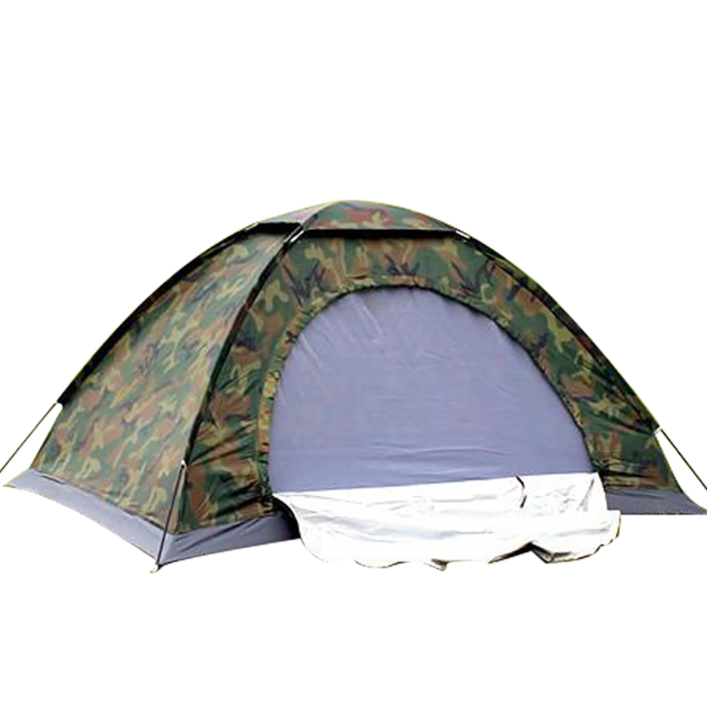 Outdoor Camouflage Tent Polyester Camping Tents Portable Folding Sun Shelter Ultralight Windproof Awning Waterproof Sun Shelter