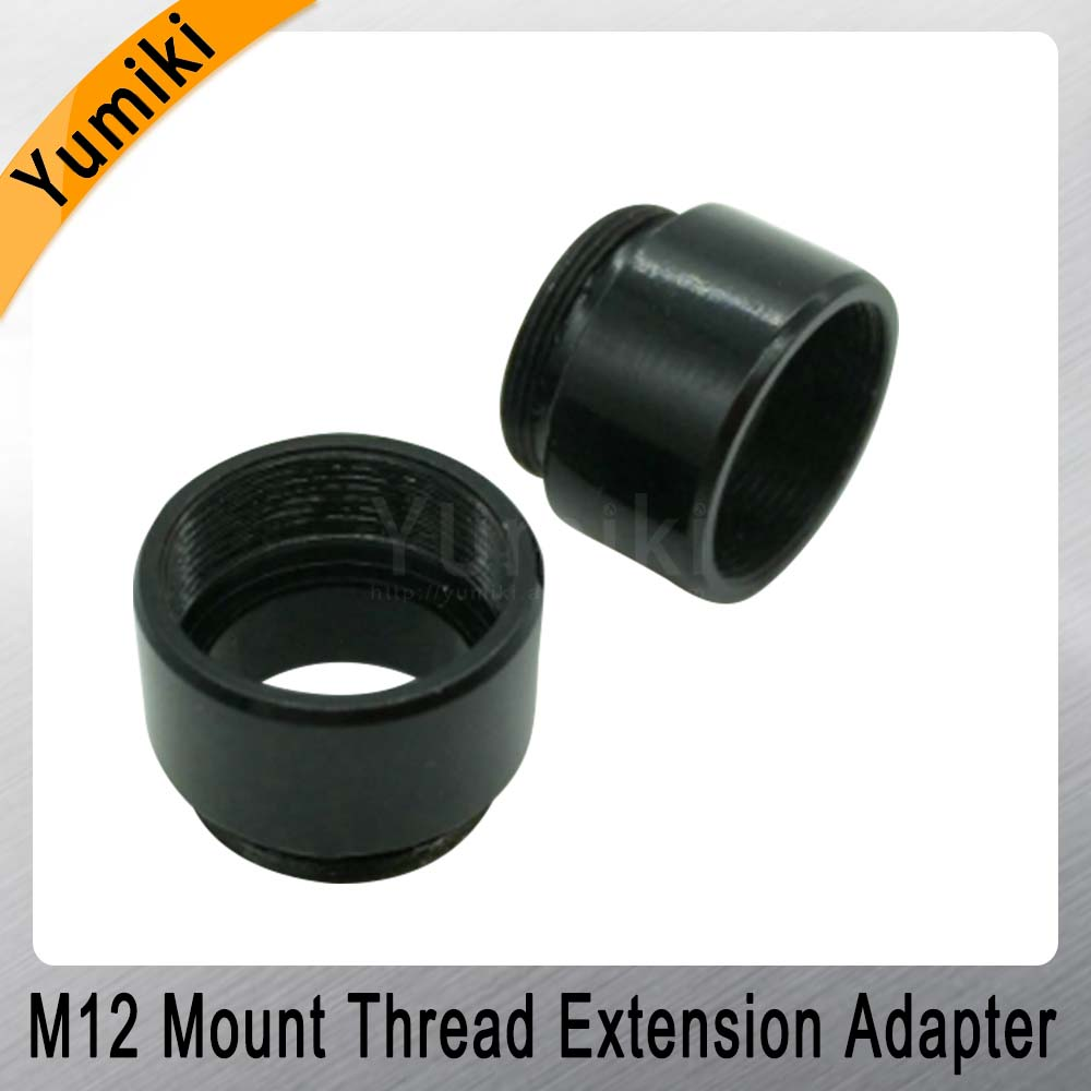 Image 3 - Yumiki 2pcs/lot Mount Thread Extension Adapter Zinc Alloy Extender M12 Lens Extension Ring for MTV Interface CCTV Lens-in CCTV Parts from Security & Protection