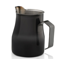 350ml stainless steel flower pot cappuccino coffee utensils 304 stainless steel coffee art cup