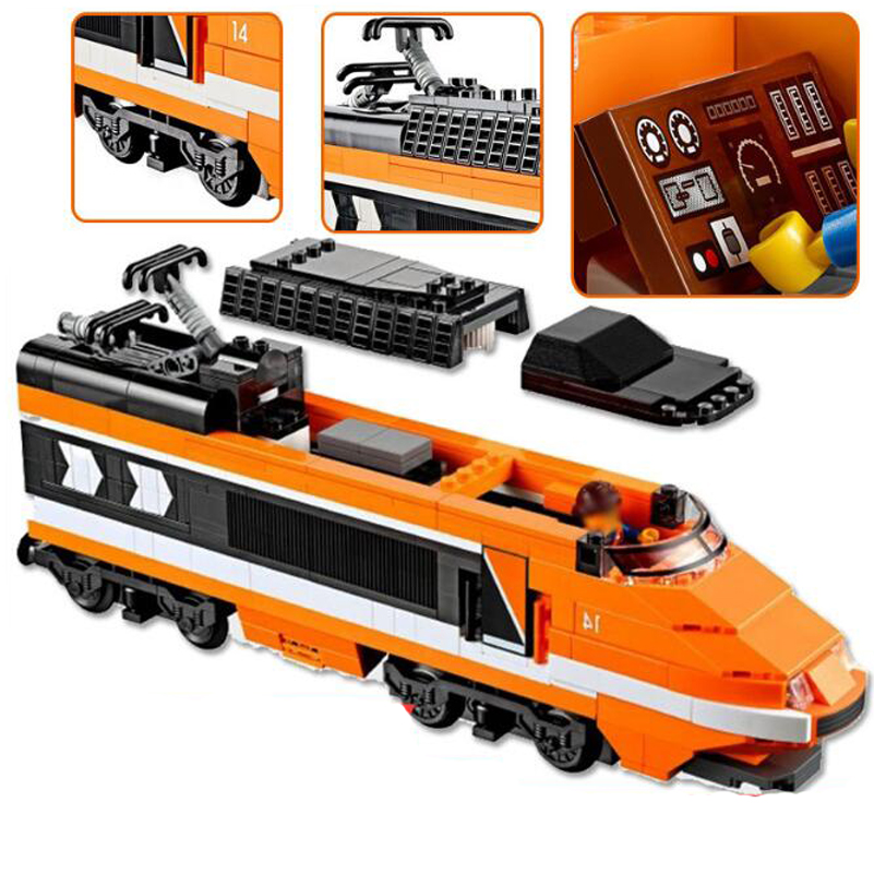 21007 Horizon Express Train Model Building Blocks Compatible Lepin Technic Series Education Bricks Toys For Children Gifts lepin 02010 610pcs city series building blocks rc high speed passenger train education bricks toys for children christmas gifts