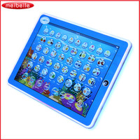 Hot sale Kids Learning English Tablet Teach LED Pad Educational Toy Table For Girl / Boy brinquedo educativo Funny juguetes