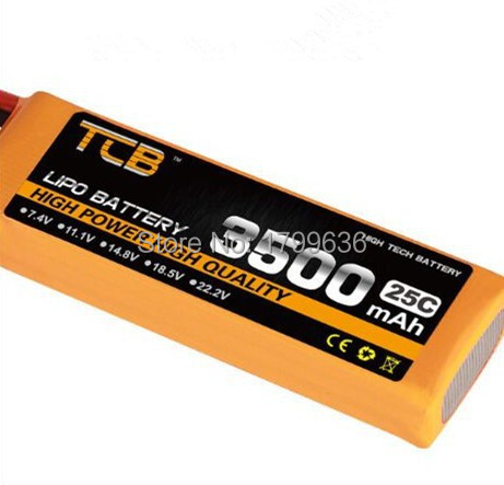 rc 5s rechargeable lipo battery 18.5v 3500mAh 25C for RC airplane tank helicopter free shipping tcb lipo battery 18 5 v 3500mah 25c 5s for rc airplane free shipping