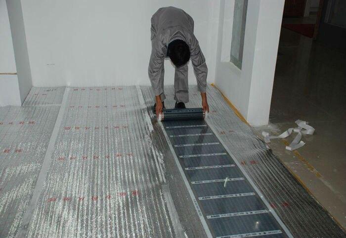 heating film install case 009