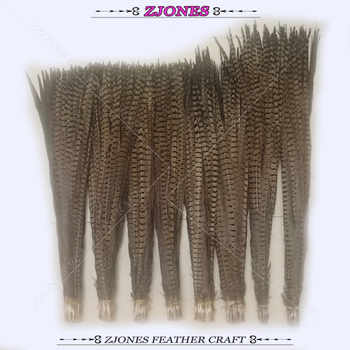 Wholesale 100pc Natural 75-100cm Ringneck Pheasant Feathers Lady Amherst Pheasant Feather Dress Carnival Party /Samba Decoration