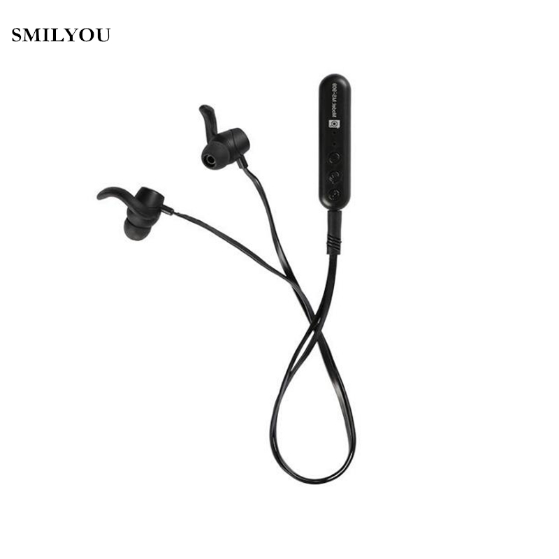SMILYOU Portable Wireless Bluetooth Earphone In-ear Stereo Sport Headphones with Mic fone de ouvido Headset for Mobile phones bluetooth headset stereo sound wireless bluetooth earphone bass sport in ear headphones headband handsfree for iphone pc
