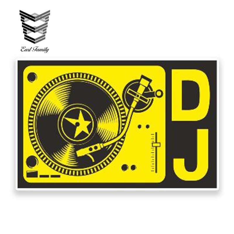 Music DJ Headset Car Sticker Wall Home Glass Window Door