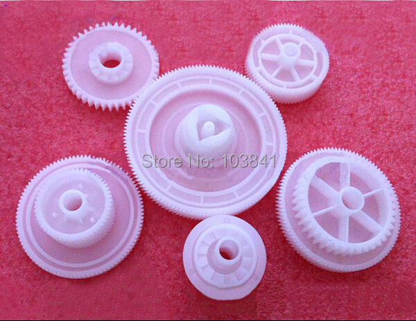 6PC/LOT Printer Fuser Gear RU5-0546 RU5-0547 RU5-0548 RU5-0549 RU5-0550 RU5-0551 Gear to Drive the Drum for HP5200 Free Shipping new original laserjet 5200 m5025 m5035 5025 5035 lbp3500 3900 toner cartridge drive gear assembly ru5 0548 rk2 0521 ru5 0546