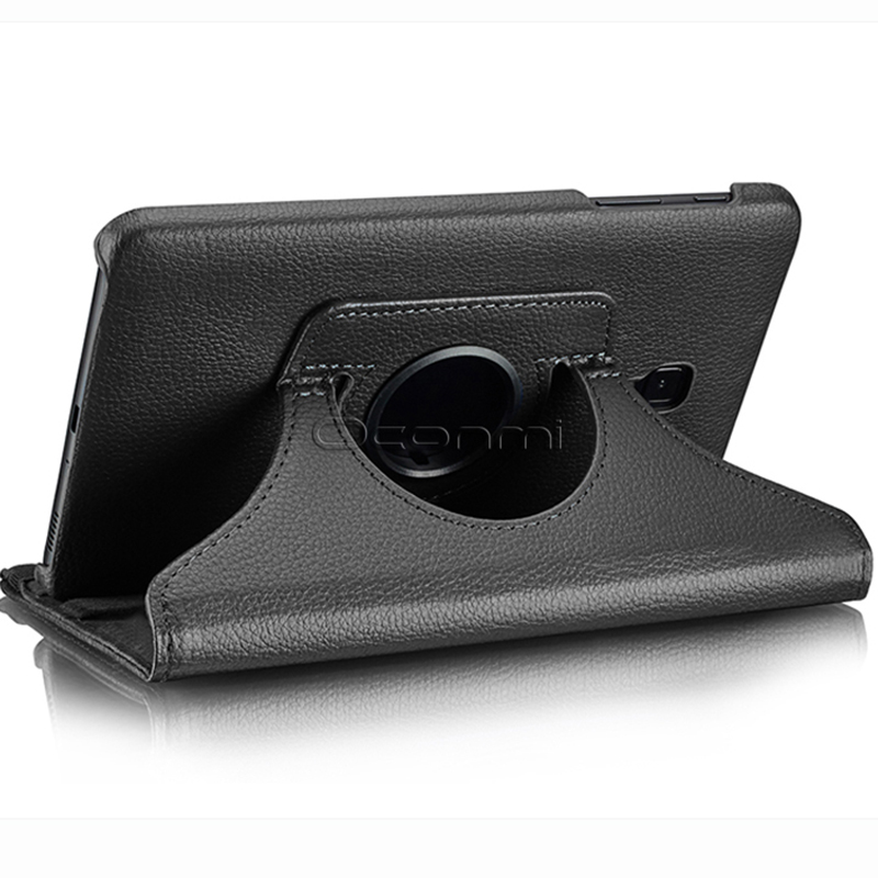 360 Degree Rotating PU Leather Case For Samsung Galaxy Tab A 8.0 2017 Cover SM- T380 SM-T385 Tablet Case