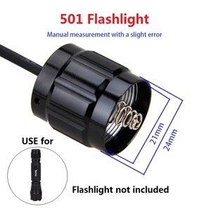 Image 3 - Contrôleur de pression, 9 modèles, pour lampe torche, interrupteur queue de Rat, pour C8/501/502B/VA 501/A100/C10/801/T67/710