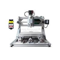 2017 New Mini CNC 1610 500mw Laser CNC Engraving Machine Pcb Milling Machine Diy Mini Cnc