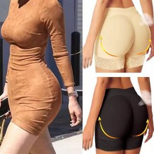 Push Up Butt Lifter Panties Enhancer Hip And Padded Panty Fake Pads Booty Shaper Women Plus Size Shapewear Pant
