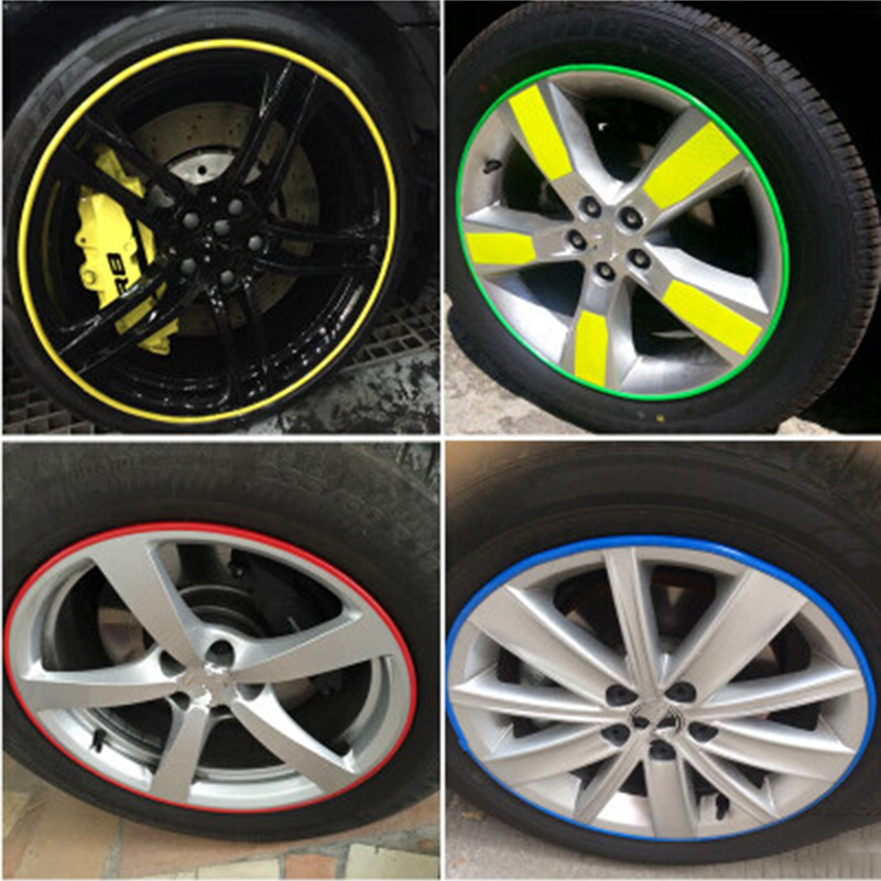 Car-Styling Wheel Hub Rim Protection Sticker For Lexus ES250 RX350 330 ES240 GS460 CT200H CT DS LX LS IS ES RX GS GX-Series