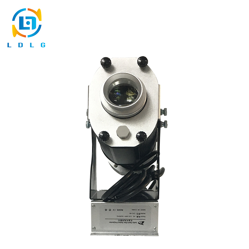 Hot Christmas New Year Decoration 40W LED Chandelier Projector 4500lm Indoor Lighting LED Gobo Projector with 1pc Two Color Gobo
