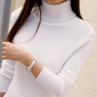 2016 Women S Slim Medium Long Turtleneck Sweater Thickening Sweater Knitting Sweater Pattern