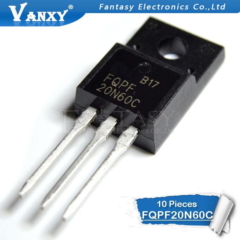 20n60c - 10PCS FQPF20N60 TO220 20N60 20N60C FQPF2060C FQPF20N60C TO-220