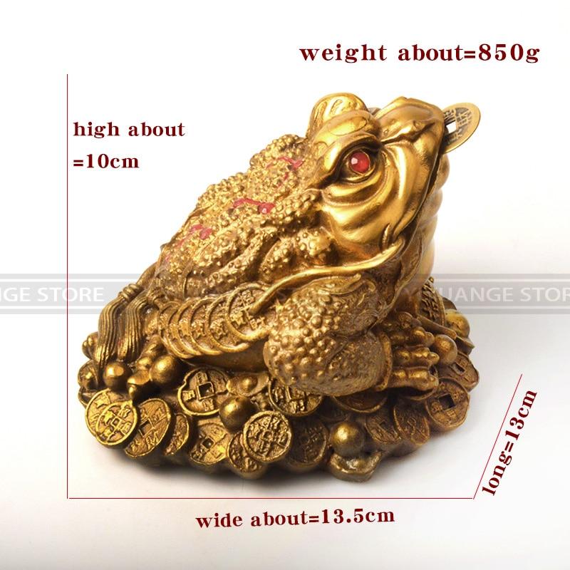 จีน Feng Shui สามขาเงินสำหรับกบทองเหลืองคางคกจีนเหรียญโลหะหัตถกรรมของขวัญ-ใน รูปแกะสลักและรูปจำลอง จาก บ้านและสวน บน   2