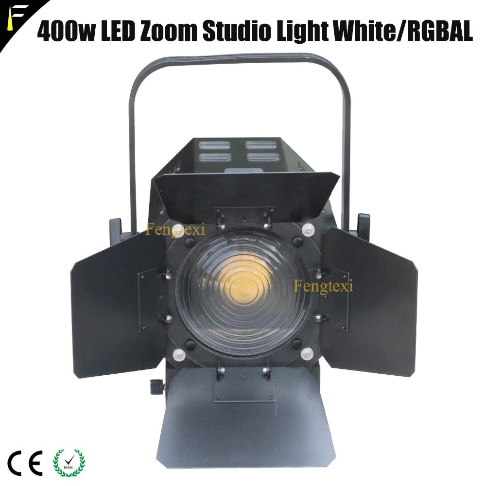High Power 5in1 RGBAL White 400w LED Zoom TV Studio Light Lecture Stage Conference Hall Light
