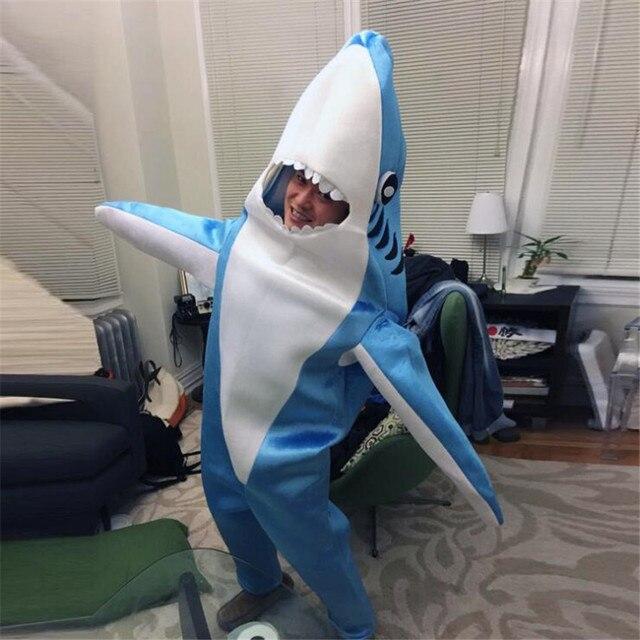 Костюм акулы плюшевый 1