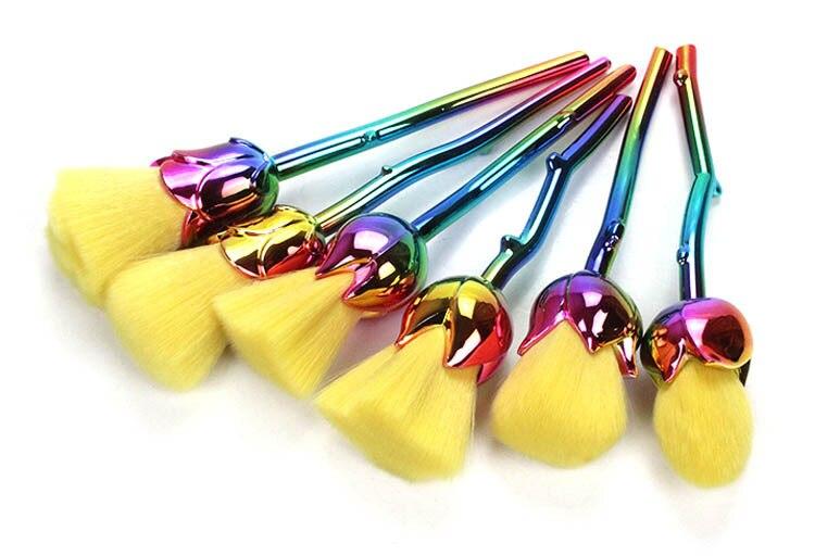 6 pçs set rosas ferramentas conjunto de