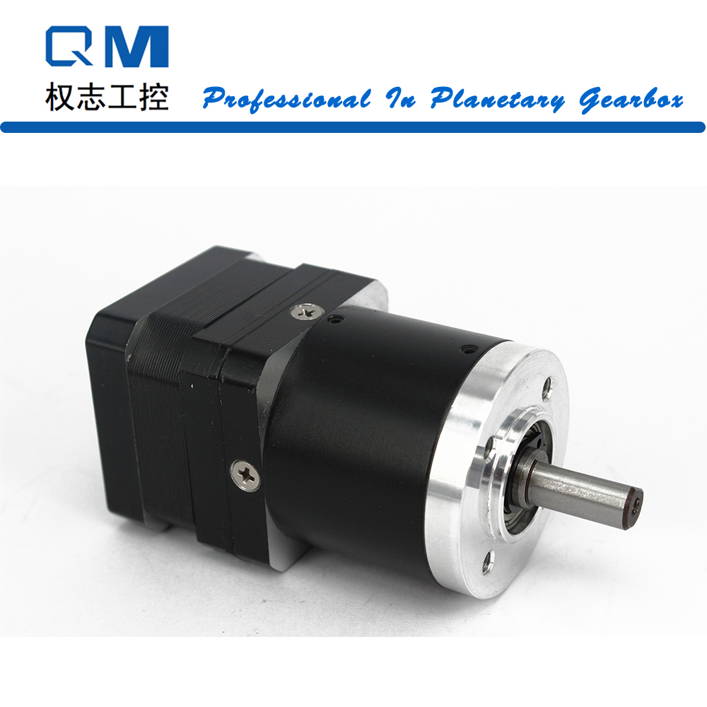 Geared Stepper Motor Nema 17 Planetary Reduction Gearbox Ratio 30:1 25 Arcmin Nema 17 Stepper Motor 26mm cnc robot pump 57mm planetary gearbox geared stepper motor ratio 10 1 nema23 l 56mm 3a