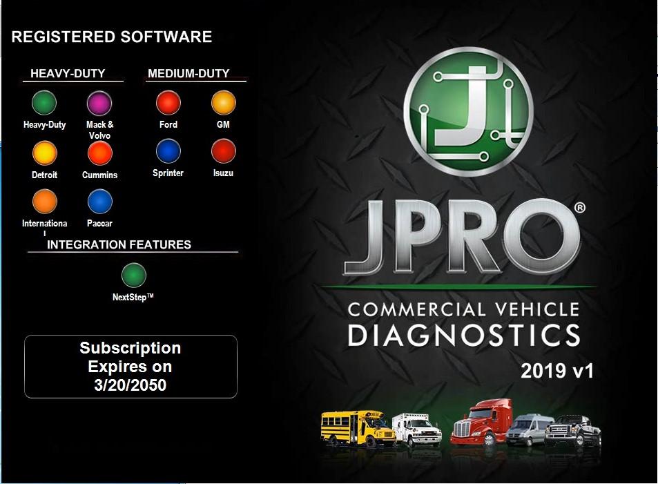 Noregon JPRO Commercial Fleet Diagnostics 2019v2 2019v1 +keygen