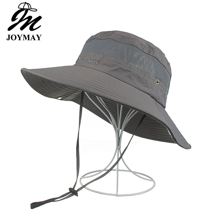 c3371a658c50b2 Details about AKIZON Summer Bucket Hats Fishing Wide Brim Hat UV Protection  Cap Men Hiking