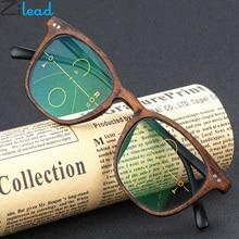 Zilead Imitation Wood Plastic Reading Glasses Women&Men Resin HD Presbyopia Unisex Diopter+1.0+1.5+2.0+2.5+3.0+3.5 +4.0