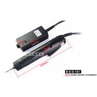Nova chegada BSD-101 grupo elétrico parafuso driver elétrico tipo reto chave de fenda elétrica com fonte alimentação 36 w 1100r/min 220 v