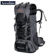 Aeroline Brand Export Single Bag Outdoor Travel Sport Backpack Hiking Mountaineering Bag Waterproof knapsack Free Shipping 85+5L