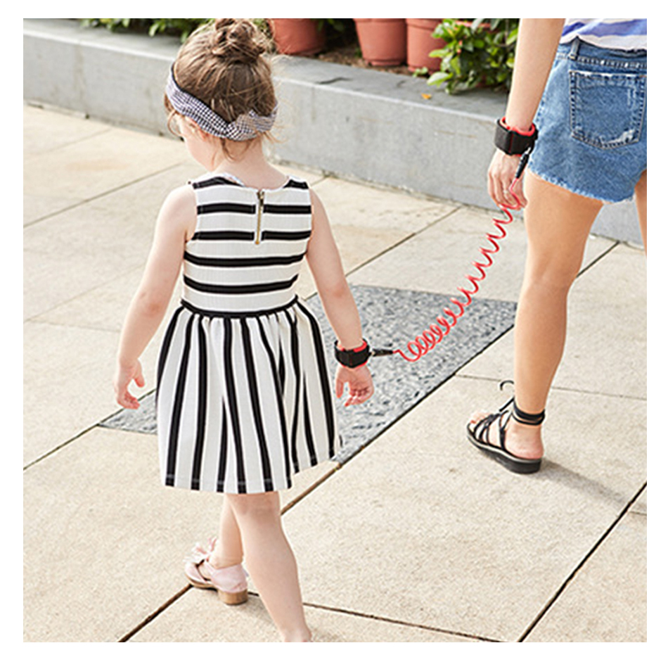 1pc Blau Newin Star Anti-Loss Strap Wrist Link Hand Harness Leash Band Safety for Toddlers Child Kid 2M Orange