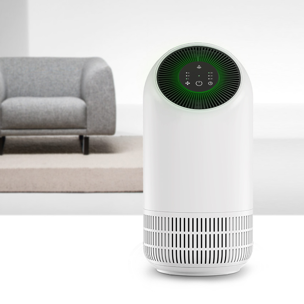 New Touch Pannel Fillo Air Purifier Low Noise Large Volume HEPA 3 in 1 Filter 2/4/8 Hours Time Setting Function free shipping wholesale price true hepa bedroom air purifier 4 in 1 coverage 15 sq m noise less than 35db 10qb deodorization