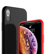 For Apple iPhone X XS 5S Silicone Case Iphone 6s plus 8 6 7 Plus XR Max Phone Cover Protective