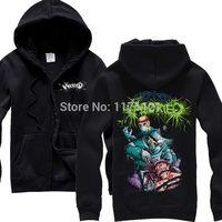 ABORTED Coronary Reconstruct Hoodie Grind Death Heavy Metal 100 Cotton Black New Hoodie