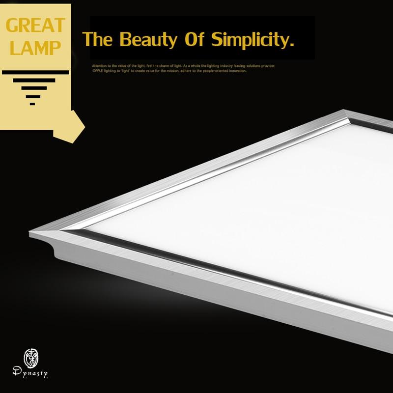 LED პანელის შუქები 30X30CM მოედანი ალუმინის ინტეგრირებული გვერდითი განათება ჭერის ნათურა Super Bright 24W სამზარეულო ოფისის აბაზანის დინასტია