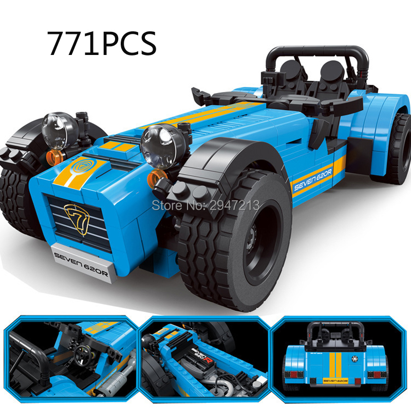 2017 hot compatible LegoINGlys technic city series classic Formula racing Building Blocks modle brick toys for Children gift household