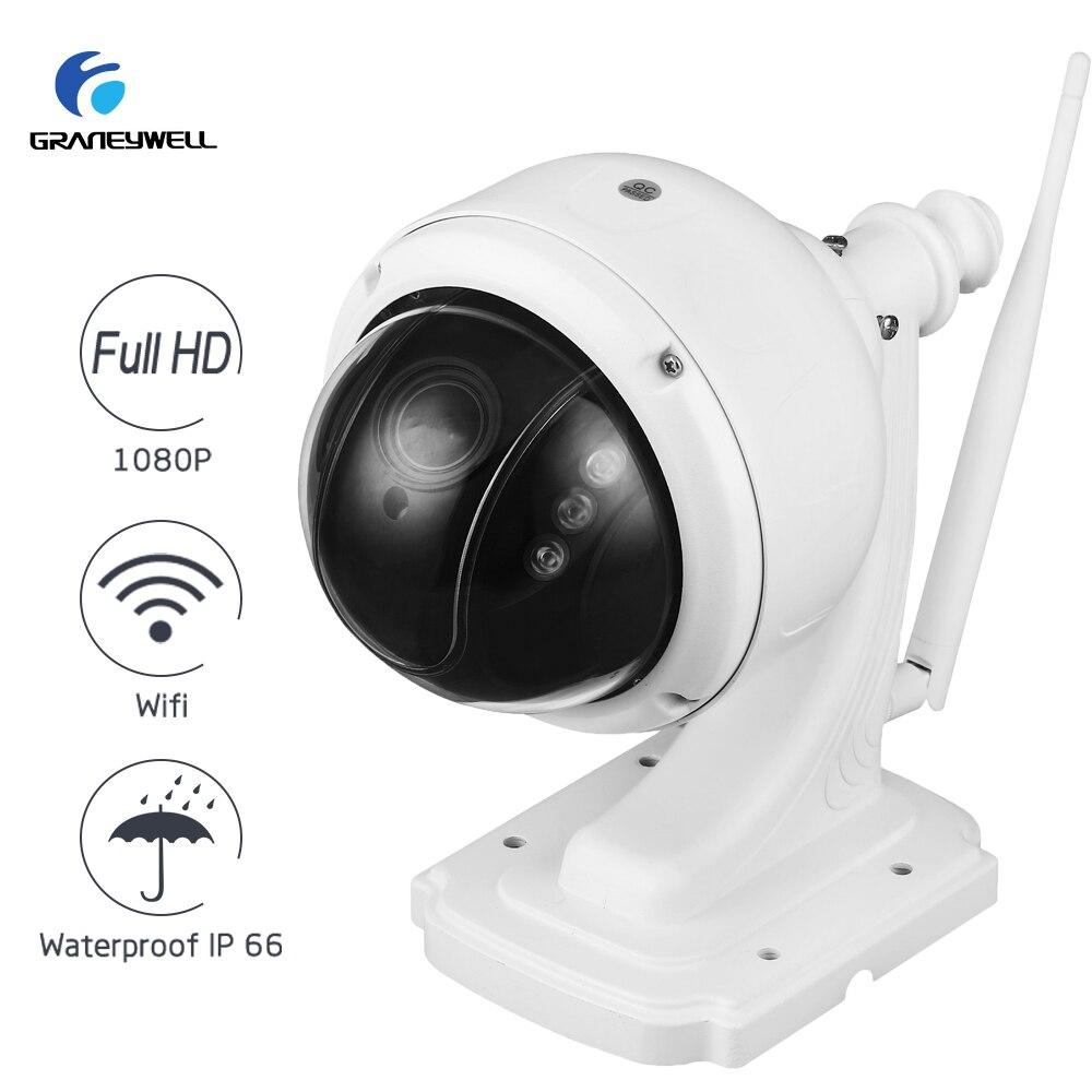 Беспроводной IP Камера 1080 P 2.0MP 5X Оптический зум Wi-Fi Home Security Камера Smart P2P Водонепроницаемый Пуля IP Камера наблюдения