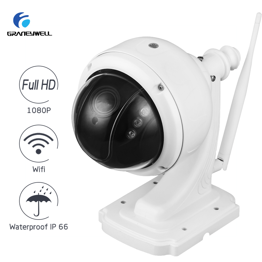 Wireless IP Camera 1080P 2.0MP 5X Optical Zoom Wifi Home Security Camera Smart P2P Waterproof Bullet IP Camera Surveillance