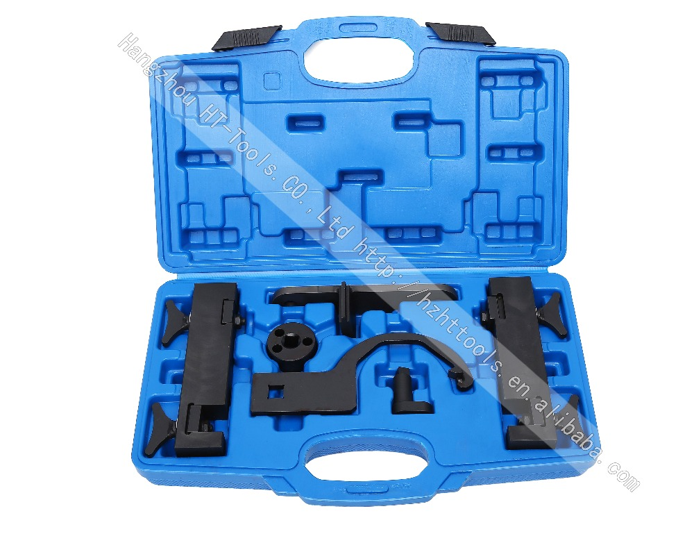 Camshaft Alignment Petrol Engine Timing Tools Set Kit For Jaguar Land Rover (V8) 5.0L цена